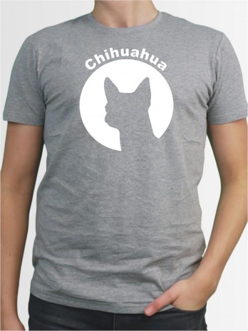 """""""Chihuahua Kurzhaar 44"""" Herren T-Shirt"""