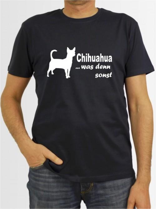 """""""Chihuahua Kurzhaar 7"""" Herren T-Shirt"""