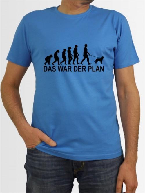 """Das war der Plan 1"" Herren T-Shirt"