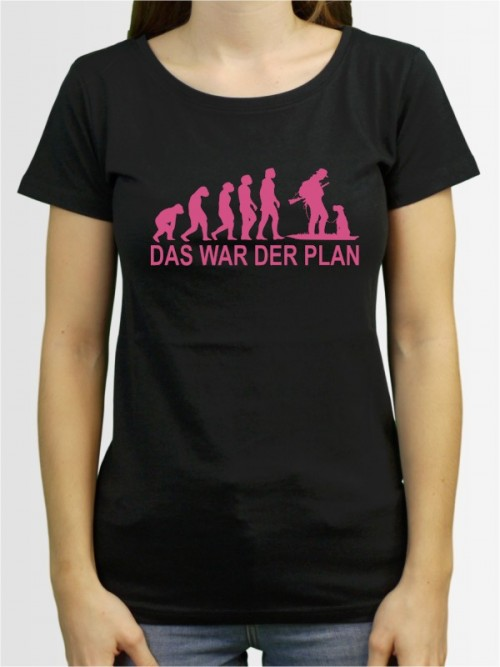 """Das war der Plan 4"" Damen T-Shirt"