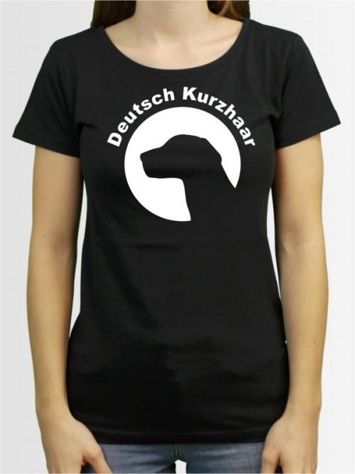"""""""Deutsch Kurzhaar 44"""" Damen T-Shirt"""