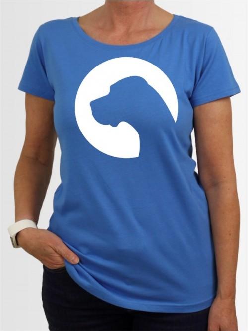 """Deutsche Dogge 45"" Damen T-Shirt"
