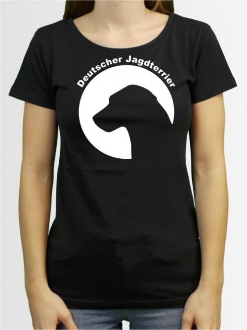 """""""Deutscher Jagdterrier 44"""" Damen T-Shirt"""