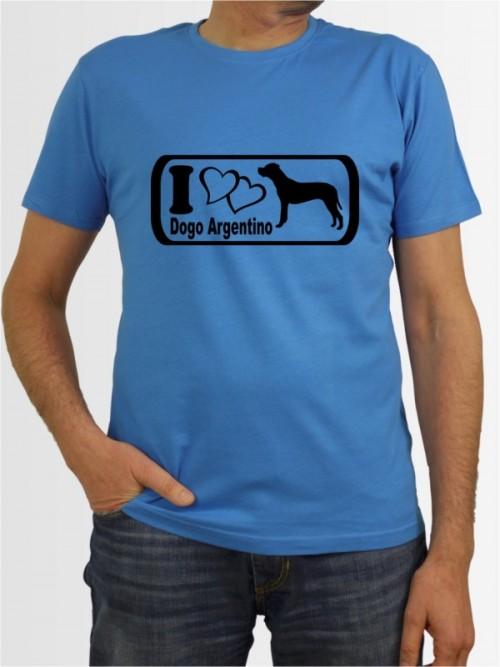 """""""Dogo Argentino 6"""" Herren T-Shirt"""