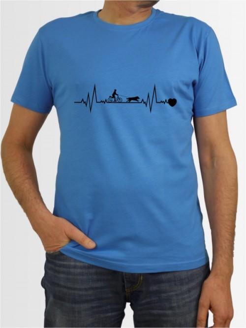 """""""Dogscooting 41"""" Herren T-Shirt"""