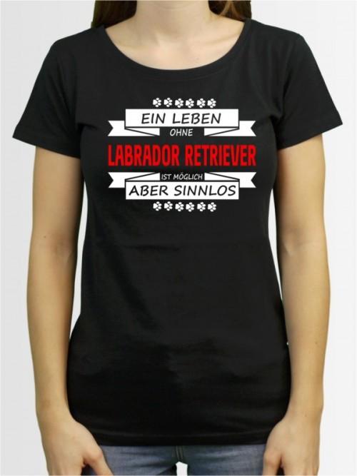 Damen-Shirt mit Labrador Retriever Hunde-Motiv von AchDuDickerHund