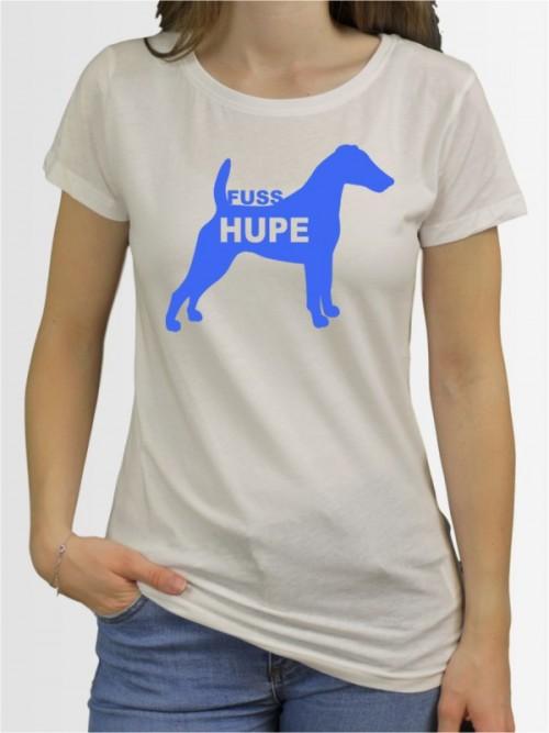 """""""Fox Terrier Fußhupe"""" Damen T-Shirt"""