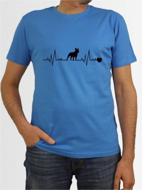 """""""Französische Bulldogge 41"""" Herren T-Shirt"""