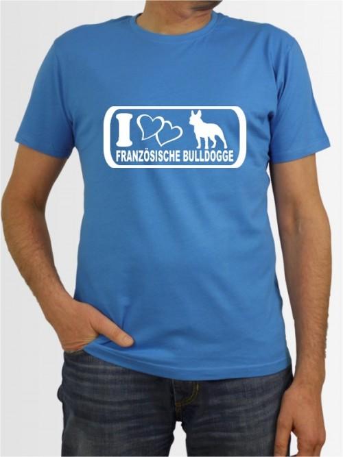 """""""Französische Bulldogge 6"""" Herren T-Shirt"""