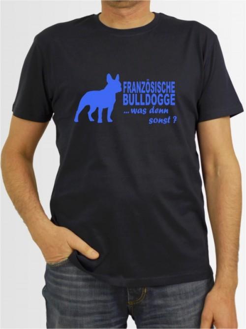 """""""Französische Bulldogge 7"""" Herren T-Shirt"""