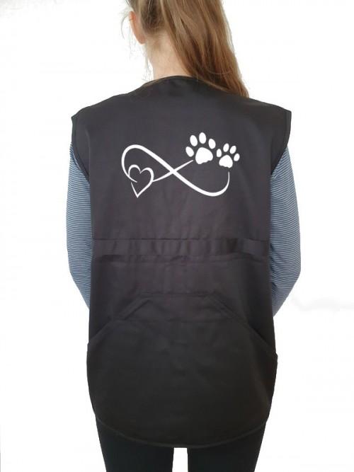 Hundesport-Weste mit Friends Motiv von AchDuDickerHund