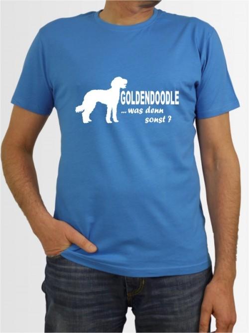 """""""Goldendoodle 7"""" Herren T-Shirt"""