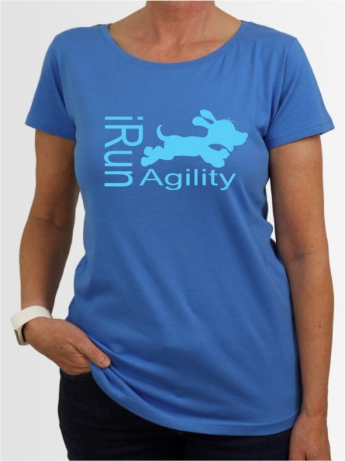 """I run Agility"" Damen T-Shirt"