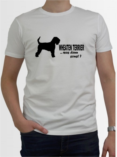 """Irish Soft Coated Wheaten Terrier 7"" Herren T-Shirt"