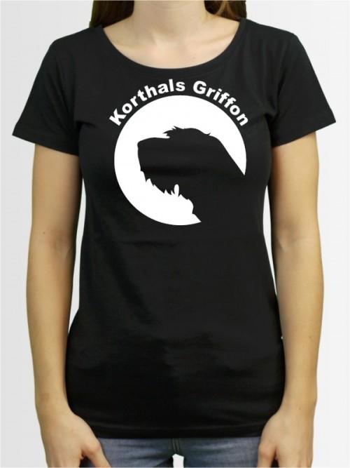 """""""Korthals Griffon 44"""" Damen T-Shirt"""