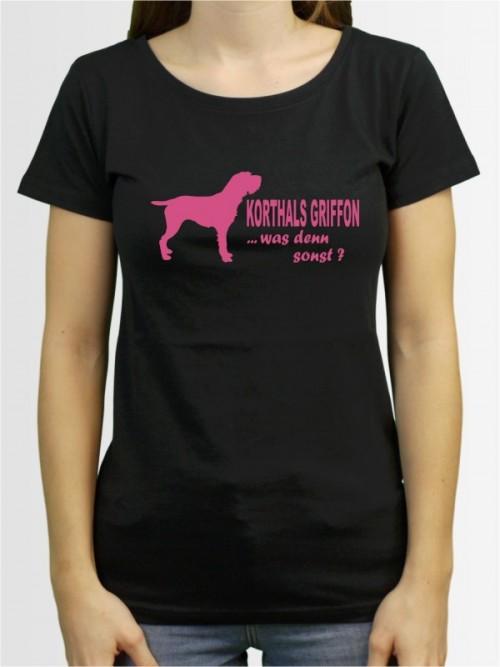 """""""Korthals Griffon 7"""" Damen T-Shirt"""