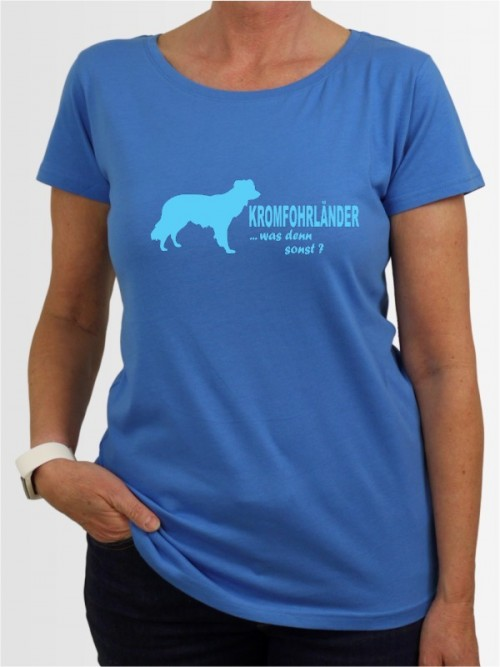 """""""Kromfohrländer Glatthaar 7"""" Damen T-Shirt"""