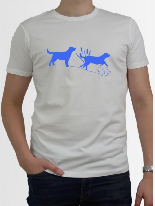 """Labrador Retriever 37"" Herren T-Shirt"