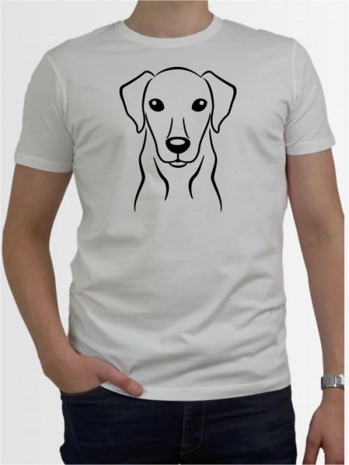 Herren-Shirt mit Hunde-Motiv von AchDuDickerHund