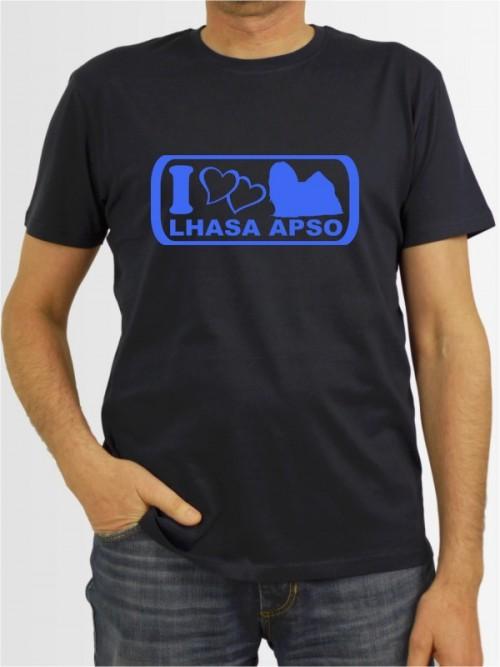 """Lhasa Apso 6"" Herren T-Shirt"