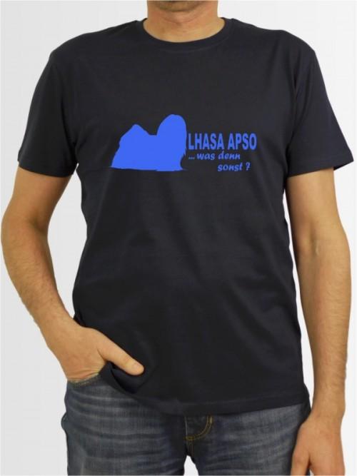"""Lhasa Apso 7"" Herren T-Shirt"