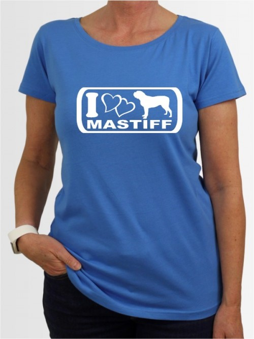 """""""Mastiff 6"""" Damen T-Shirt"""