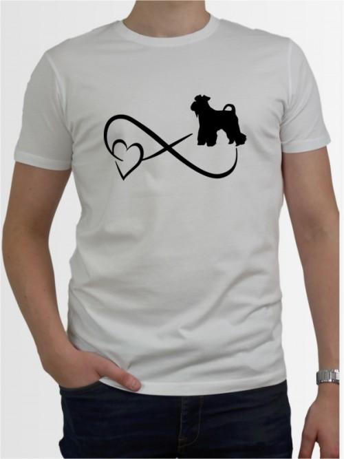 """""""Mittelschnauzer 40"""" Herren T-Shirt"""