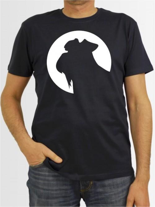 """""""Mittelschnauzer 45"""" Herren T-Shirt"""