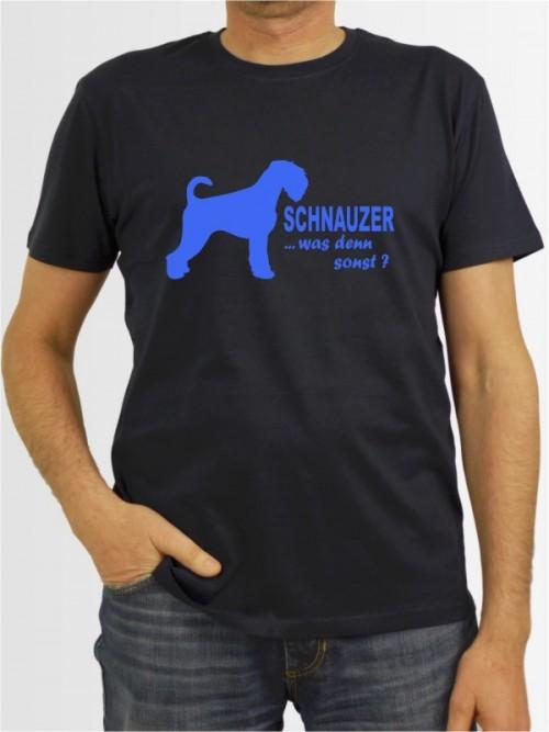 """Mittelschnauzer 7a"" Herren T-Shirt"