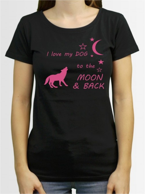 """Moon & Back"" Damen T-Shirt"