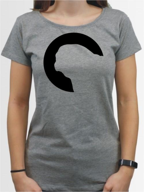 """""""Mops 45"""" Damen T-Shirt"""