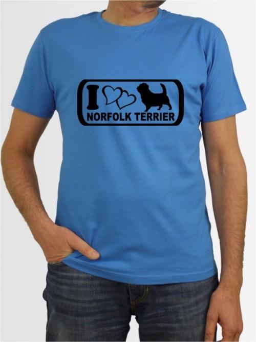 """""""Norfolk Terrier 6"""" Herren T-Shirt"""