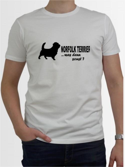 """""""Norfolk Terrier 7"""" Herren T-Shirt"""
