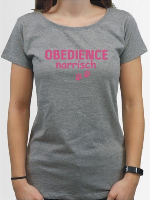 """""""Obedience narrisch"""" Damen T-Shirt"""