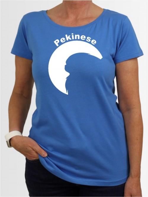 """""""Pekinese 44"""" Damen T-Shirt"""