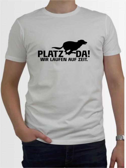 """""""Platz da wir laufen auf Zeit"""" Herren T-Shirt"""