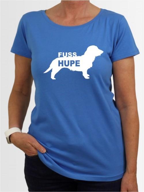 """Rauhaardackel Fußhupe"" Damen T-Shirt"