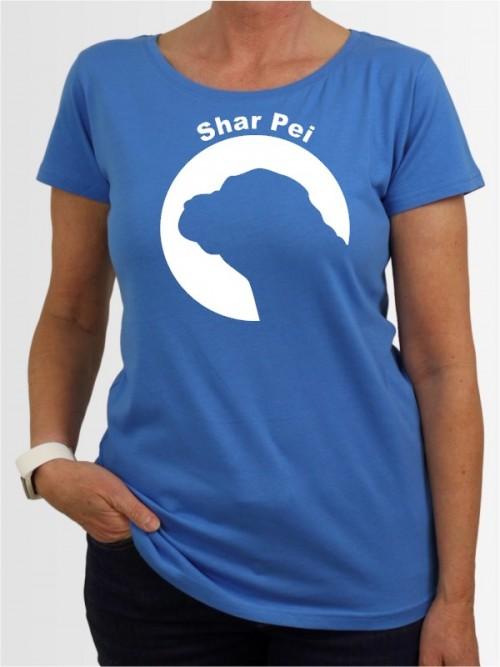"""""""Shar Pei 44"""" Damen T-Shirt"""