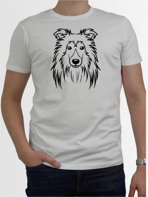 """Sheltie Comic"" Herren T-Shirt"