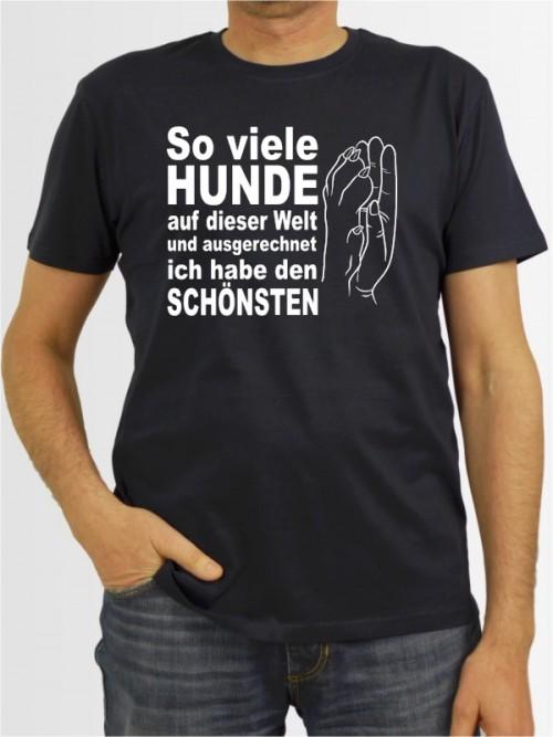 """""""So viele Hunde"""" Herren T-Shirt"""