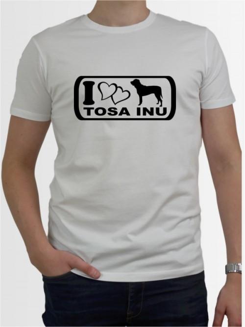 """Tosa Inu 6"" Herren T-Shirt"