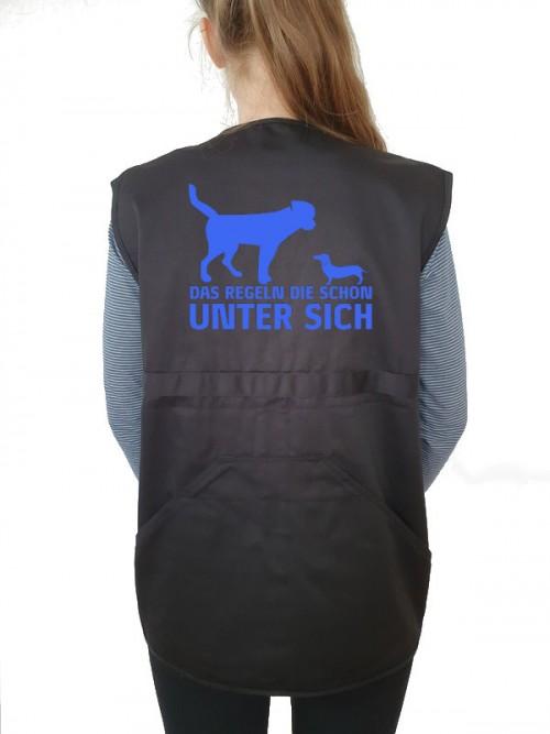 """""""Unter sich"""" Weste"""