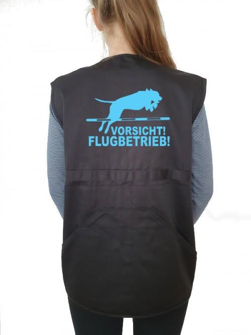 """""""Vorsicht Flugbetrieb"""" Weste"""