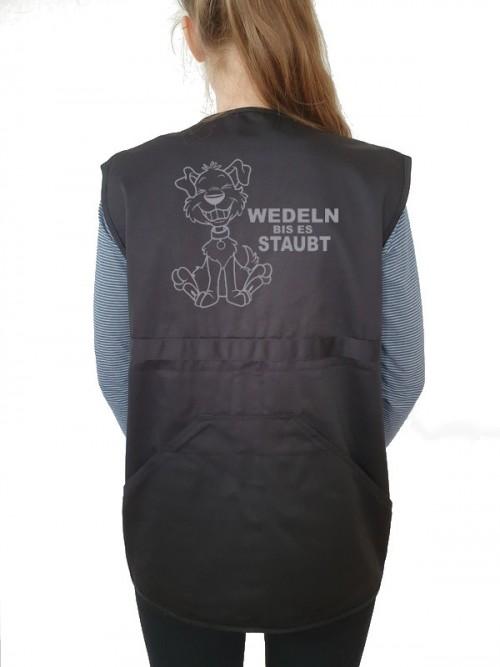 """""""Wedeln bis es staubt"""" Weste"""